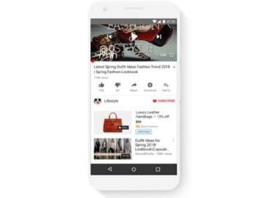 Πως εμφανίζονται οι Google Shopping Ads στο YouTube